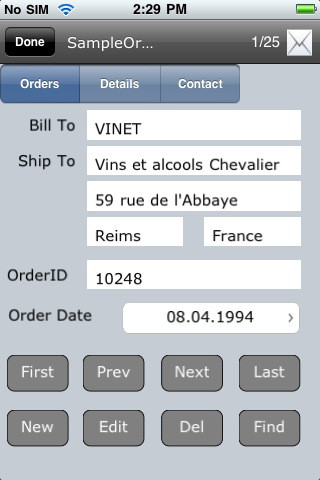 Cellica Database for iPhone (Database Viewer Plus)