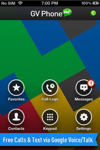 PHONE for Google Voice/Talk 1.0.0