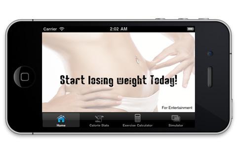 Diet weight loss calorie calculator