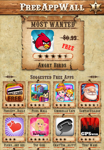FreeAppWall: Just FREE Apps!