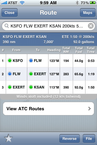 ForeFlight Mobile Aviation Weather, Flight Planning, EFB, and Charts
