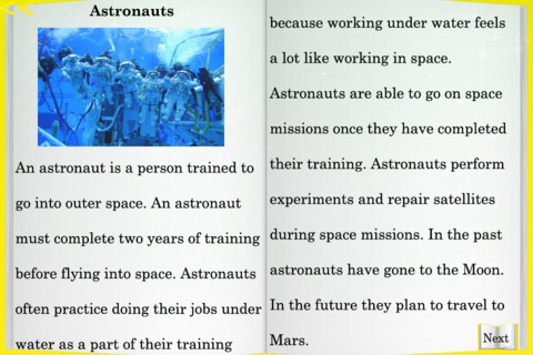 Kids Reading Comprehension Level 2 Passages For iPhone 1.0