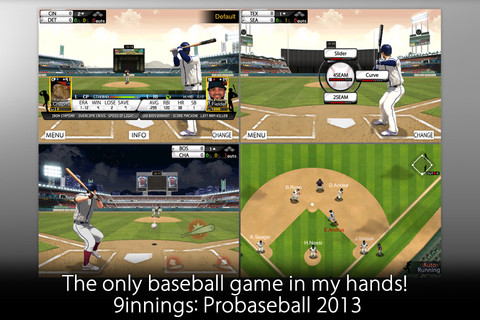 9 Innings: Pro Baseball 2013 PLUS