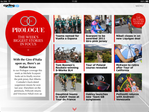 Cycling News HD - the weekly road racing magazine cycling news