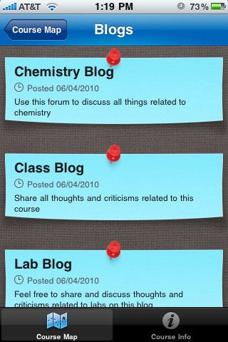 "Blackboard Mobileâ""¢ Learn for iPhone"
