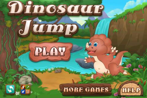 Dinosaur Jump: Tap Dino Game App for iPad - iPhone - Games