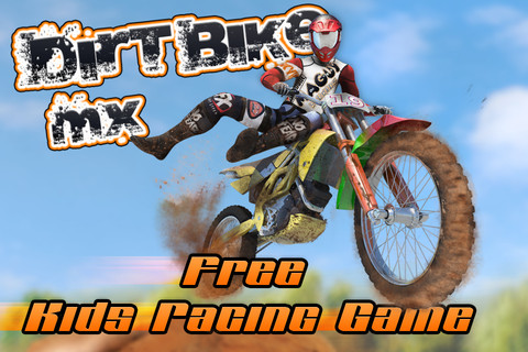Dirt Bike MX Race Track - Free Kids Racing Game