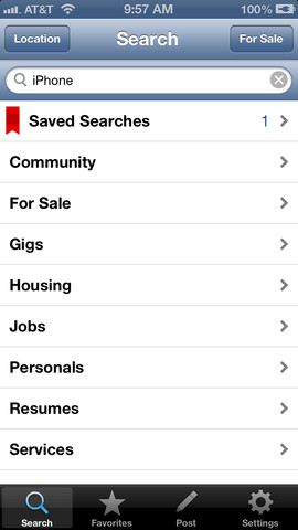 Craigslist Free - Craigslist for Your iPhone and iPad