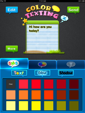 Color & Fonts for Messages HD