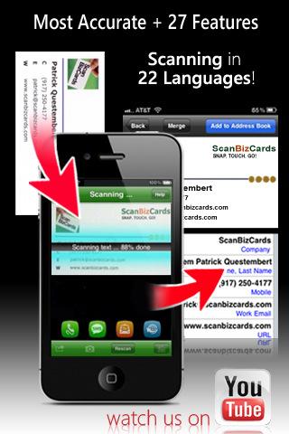 ScanBizCards Lite Business Card Scanner