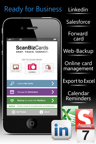 ScanBizCards Lite Business Card Scanner