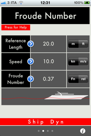 Naval Architecture on Shipdyn Naval Architecture Tool 2 0 App For Ipad  Iphone   Reference