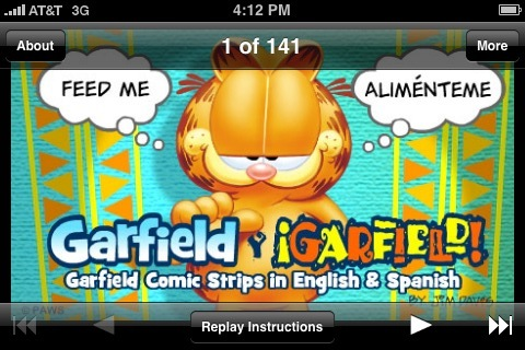 garfield 2 spanish: