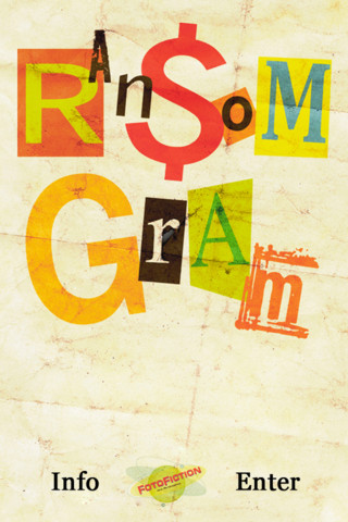 RansomGram Picture Message