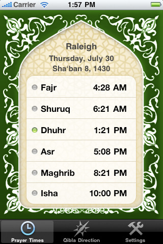 Guidance ~ Prayer Times and Adhan Notifications 2.3 App for iPad ...