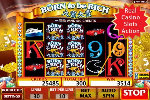 download born to be rich free slot games