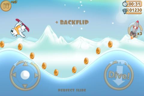 Snowboard racing games free app funny addicting game iphone ipad ios