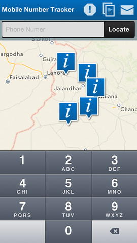 mobile phone location tracker india