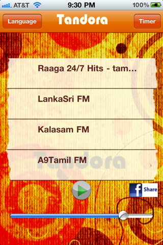 Tandora Tamil Radio Pandora Box of Bollywood Kollywood south indian desi music