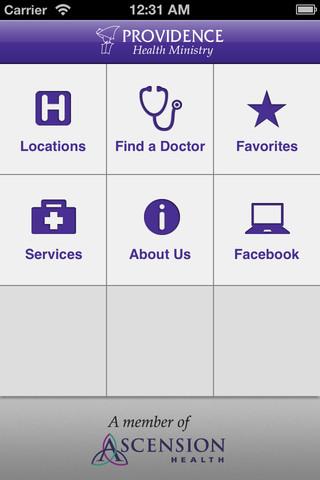 Providence Health Ministry providence