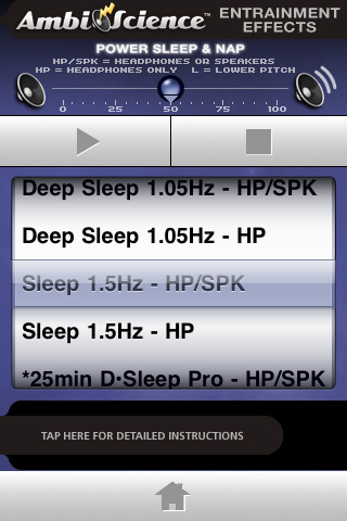 Power Sleep & Nap | AmbiScience™ • Binaural & Isochronic ...
