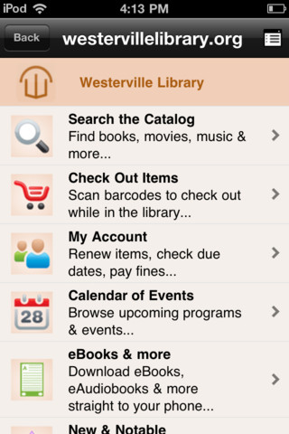 Westerville Public Library free public online library