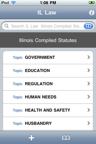 Illinois Compiled Statutes (IL Law)