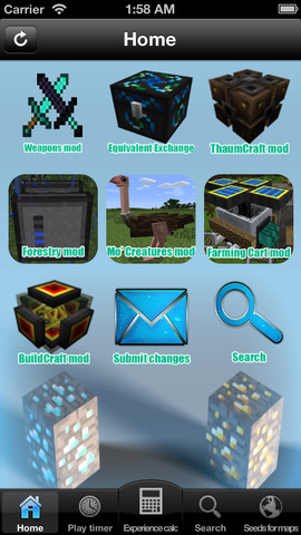 Download mods crafting for minecraft iphone ipad ios