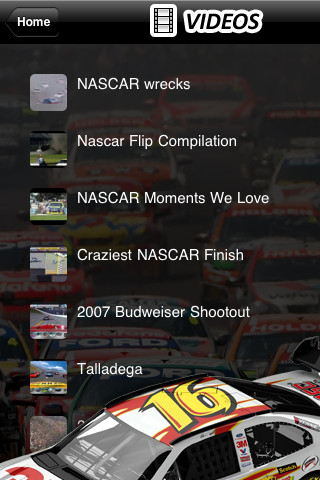 Auto Racing Nascar on Related   Entertainment   Nascar News   Sprint Cup Auto Racing 1 0