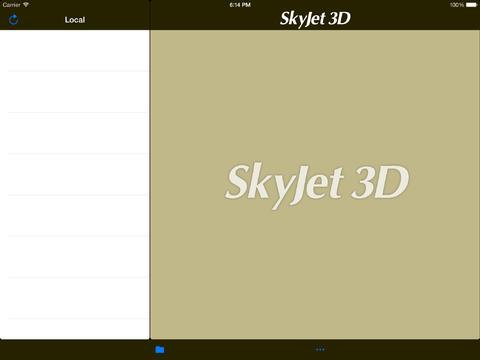 SkyJet 3D tv projectors