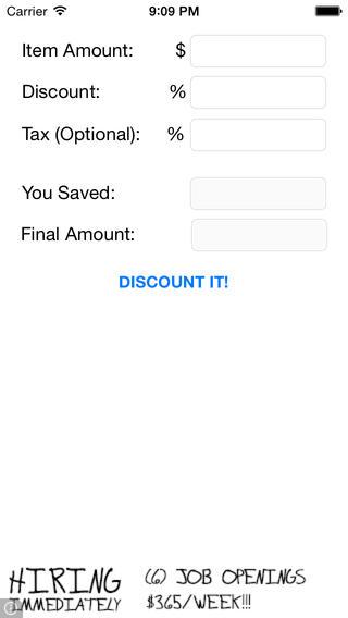 Discount It! discount