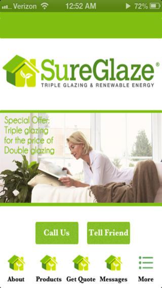 Sureglaze - Triple Glazing triple canopy