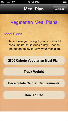 Meal Plans - Vegetarian 7 Day Meal Plans touring plans