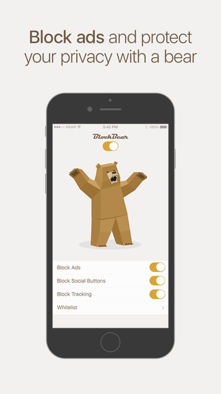 BlockBear: Block Ads and Protect Your Privacy With a Bear website tracking safari