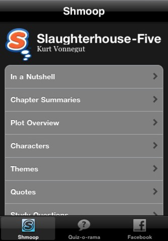 an analysis of slaughterhouse five From plot debriefs to key motifs, thug notes' slaughterhouse five summary & analysis has you covered with themes, symbols, important quotes, and more.