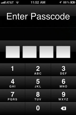 Iphone 4 Security