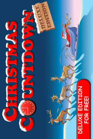 Christmas Countdown on Christmas Countdown  Deluxe Edition  Premium  1 0 App For Ipad  Iphone