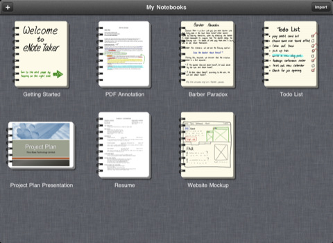 eNote Taker - Handwriting, PDF Annotation