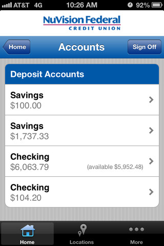 NuVision FCU - Easier Banking App