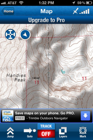 Trimble Outdoors Navigator – GPS, topo maps & compass for hiking, ATV & offroad trails