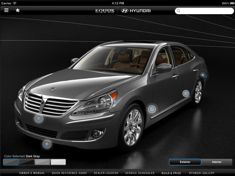 2013 Hyundai Equus Experience hyundai vehicles and prices