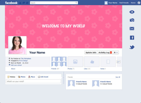 Adidas + Facebook = Cover Picture Personalization | E-Frankie Land