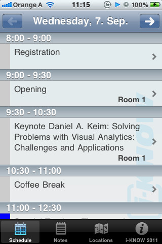 I-KNOW Conference Assistant knowledge management conference