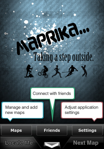 "GPS on all maps - Maprika puts ""you are here"" sign on any map: ski resort, park or campus map 2.2.1"
