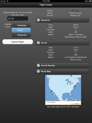 Flight Tracker for iPad Free icelandair flight status