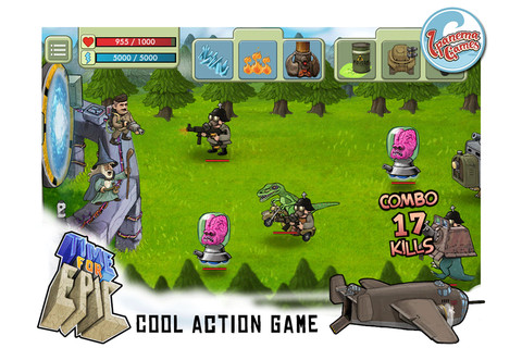 Time For Epic - Heroes in Time! A Castle Defense Game