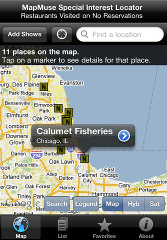 Restaurant Reservations on No Reservations Restaurant Locator By Mapmuse 1 3 App For Ipad  Iphone