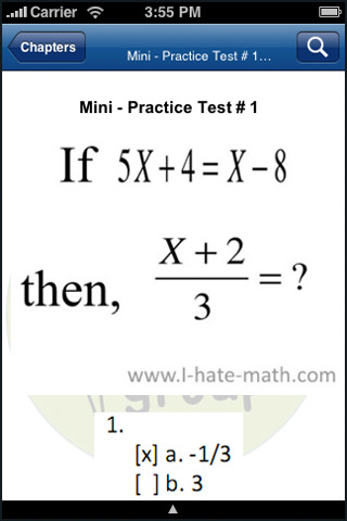 Gre Math Practice Questions App For Ipad Iphone Books