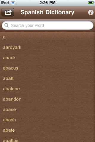 Spanish Dictionary Pro Free