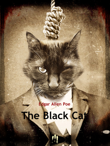 poe black cat Essay the black cat: what goes around comes around in his story the black cat, edgar allan poe dramatizes his experience with madness, and challenges the readers suspension of disbelief by using imagery in describing the plot and characters.